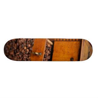 Old Coffee Grinder Skate Board