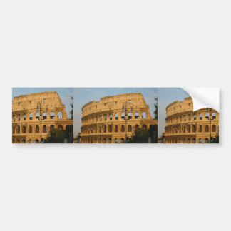 Old Colosseo Of The Rome Bumper Stickers