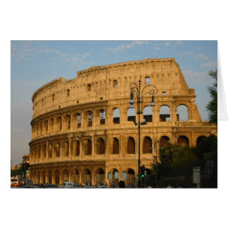 Old Colosseo Of The Rome Greeting Card