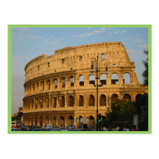 Old Colosseo Of The Rome Postcard
