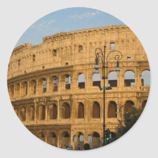 Old Colosseo Of The Rome Sticker