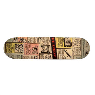 Old comic ad deck #2 20 cm skateboard deck