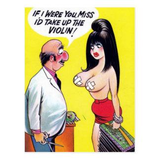 Old Comic Postcard