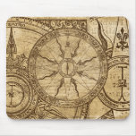 Old Compass Rose Mousepads