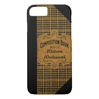 Old Composition Book iPhone 8/7 Case