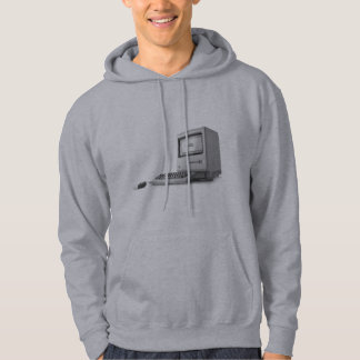 Old Computer Hooded Pullovers