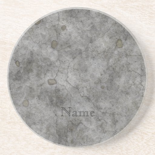 Old Concrete Drink Coasters