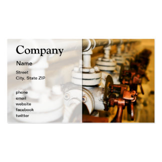 Old Controls Business Card Templates