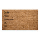 Old Cotton Canvas Texture For Background Business Card Template