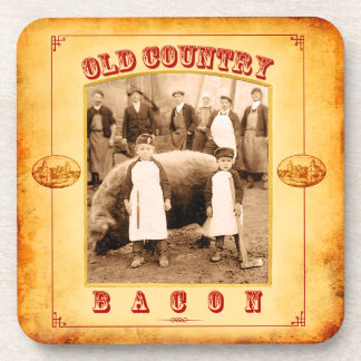 Old Country Bacon Coaster