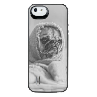 Old Country Pug iPhone SE/5/5s Battery Case