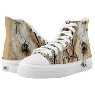 Old cracked wood natural tree bark picture 2 high tops
