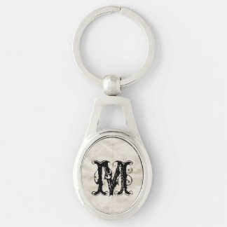 Old Creased paper Key Chain