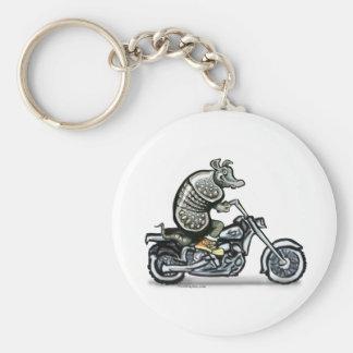 Old Crusty Biker Key Ring
