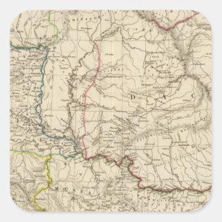 Old Dacia, Pannonia, Illyria, Moesia Square Sticker