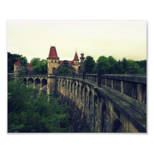 Old dam photograph