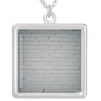 Old Damaged Concrete Brick Wall Detail Necklaces