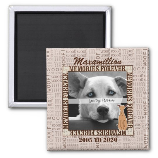 OLD DESIGN - Pet Photo Memorial for Dog