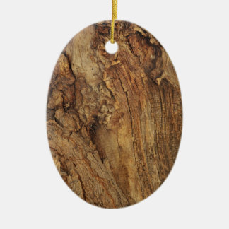 OLD DISTRESSED WOOD TEXTURE.jpg Christmas Ornament
