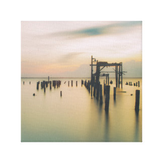 Old Dock Canvas Print