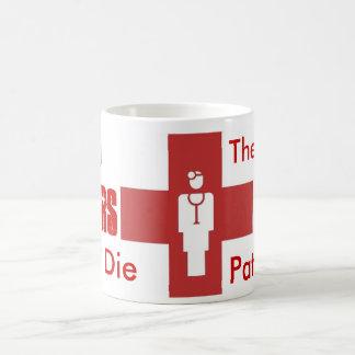 Old Doctors Don't Die Coffee Mugs