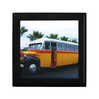 Old Dodge Bus. Gift Box