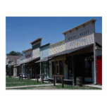 Old Dodge City storefronts in Dodge City, Kansas, Post Cards