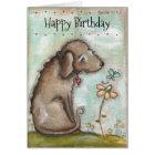 Old Dog - Birthday Card
