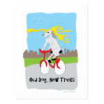 Old Dog New Tricks - Paw of Attraction Post Card