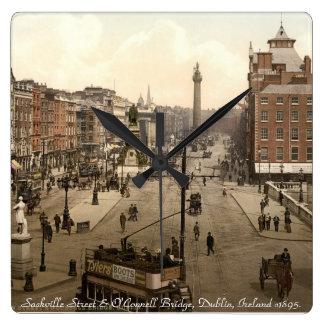 Old Dublin Ireland wall clock, Sackville Street Wallclocks