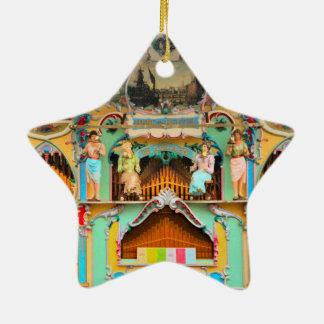 Old Dutch barrel organ Christmas Ornament