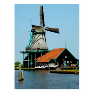 Old Dutch Windmill Postcard