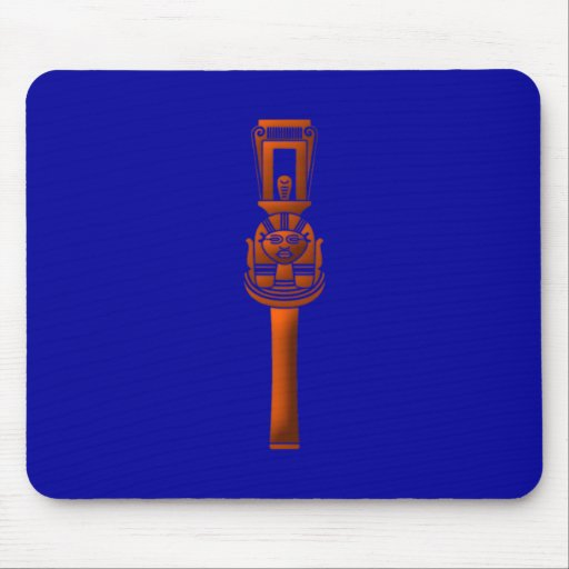 old-Egyptian rattle ancient egypt rattle Mouse Pad