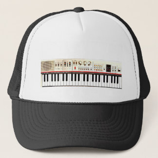Old Electric Keyboard Trucker Hat