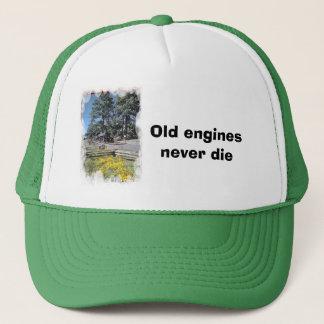 Old engines never die trucker hat