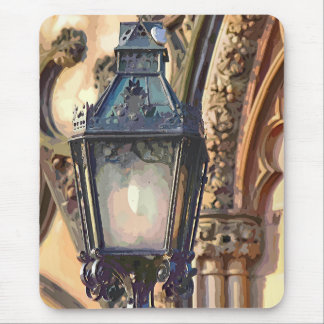 OLD ENGLAND - STREET LAMP UK MOUSE PADS