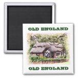 OLD ENGLAND THATCHED COTTAGES UK MAGNET