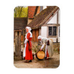 OLD ENGLAND TUDOR LADIES. No.2 Flexible Magnets