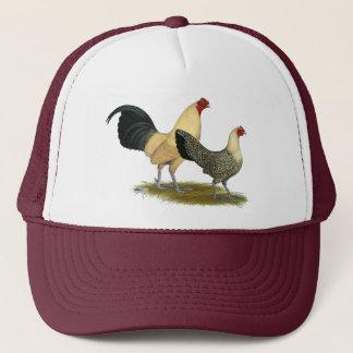 Old English Cream Buttercups Trucker Hat