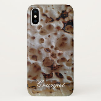 Old English Crumpet Personalized iPhone X Case