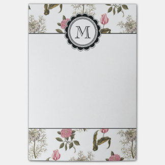 Old English Garden Vintage Floral Pattern Post-it® Notes