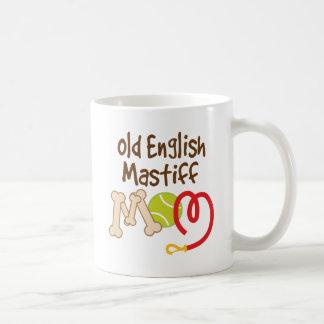 Old English Mastiff Dog Breed Mom Gift Basic White Mug