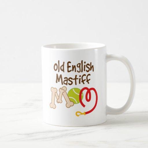 Old English Mastiff Dog Breed Mom Gift Coffee Mug