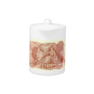 Old English Money Teapot