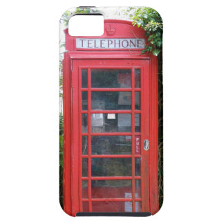 Old English Red Telephone Box iPhone 5 Case