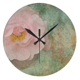 Old English Rose Clocks