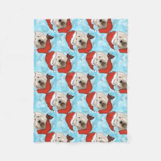 Old English Sheep Dog Fleece Blanket