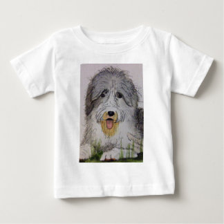 Old English Sheep Dog puppy Baby T-Shirt