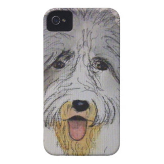 Old English Sheep Dog puppy Case-Mate iPhone 4 Case