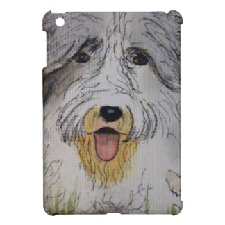 Old English Sheep Dog puppy Cover For The iPad Mini